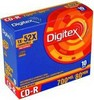 R80S52-ST1/R80S52-ST1i Диски CD-R Digitex 700 Mb 52X (Slim Case, 10 шт.)